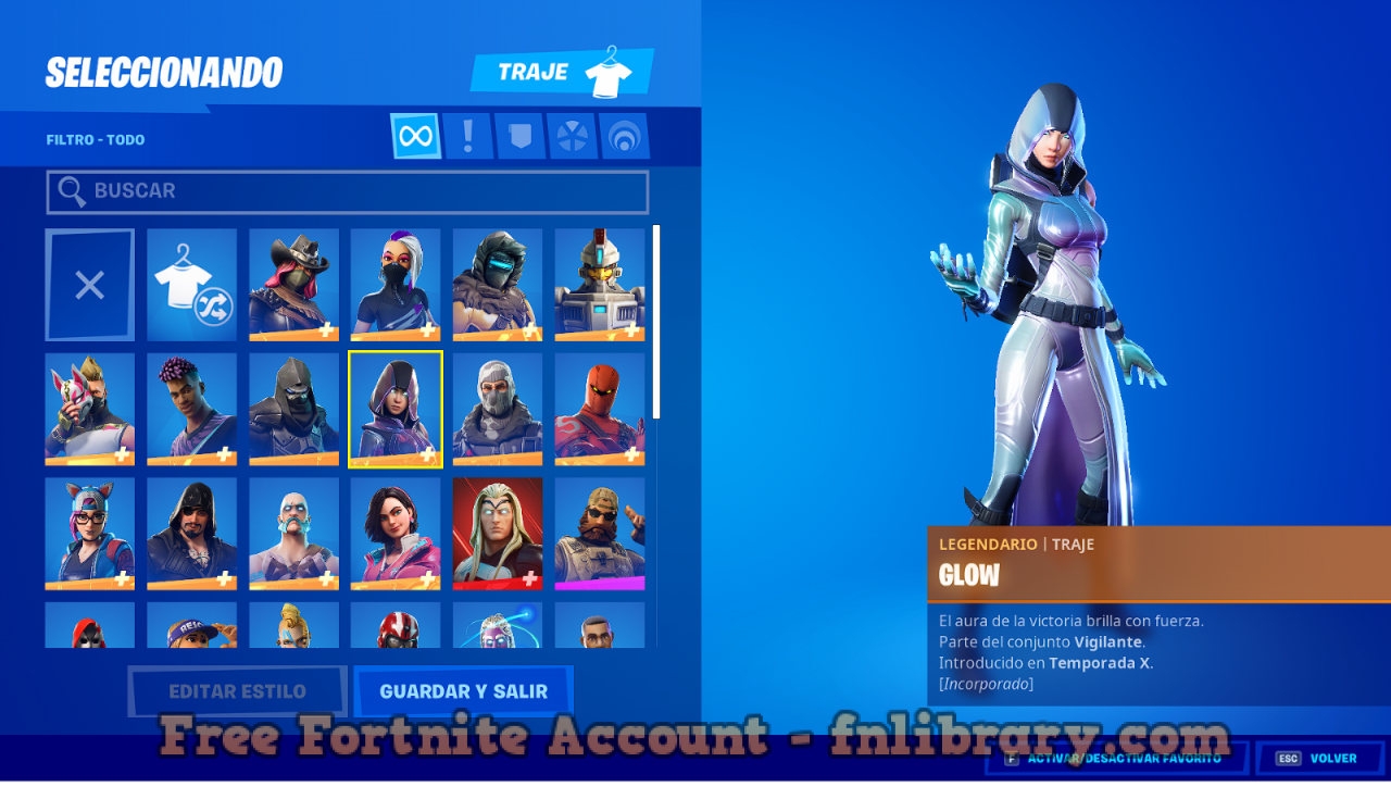 Special January 2021 Account with Galaxy Skin FA