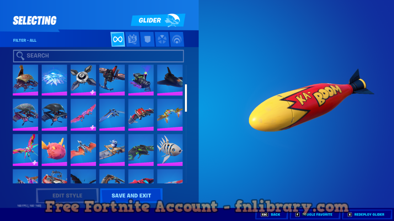 Free Fortnite Accounts [month] [year] Email Pass Skins